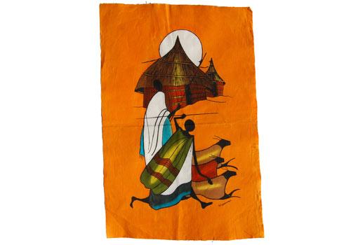 Batik abstrait
