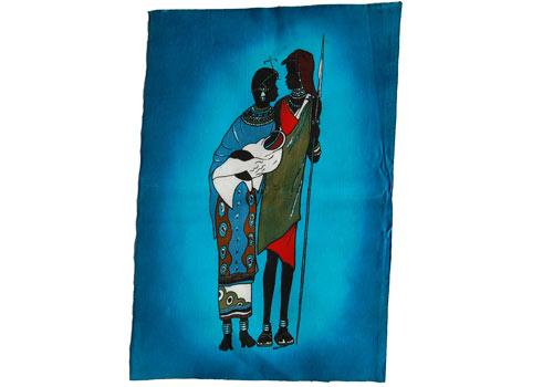 Batik africain Massai