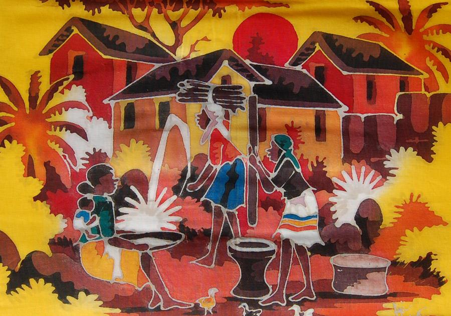 Village massai