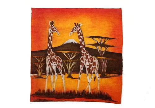 Batik girafe