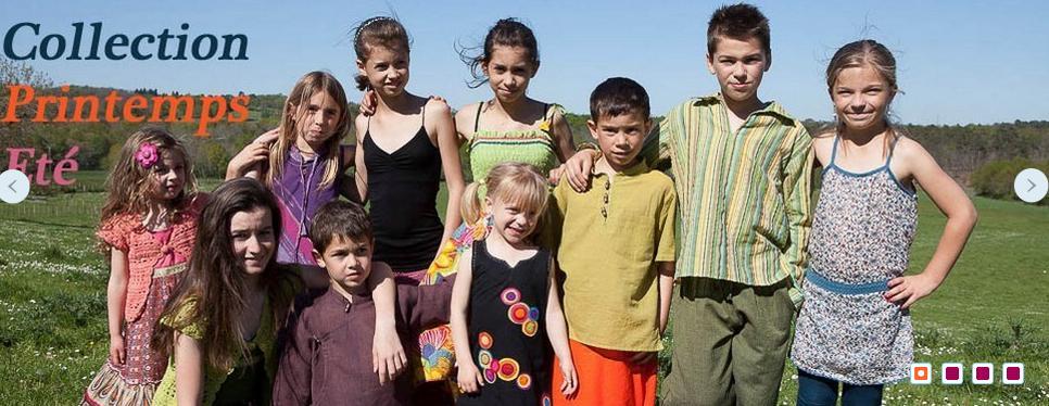 Mode ethnique enfant