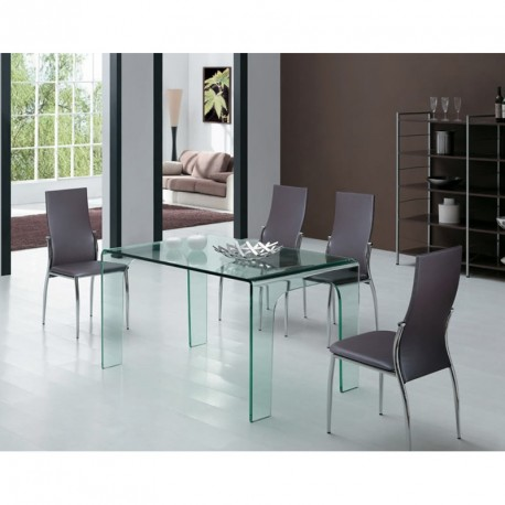 Table Design en verre