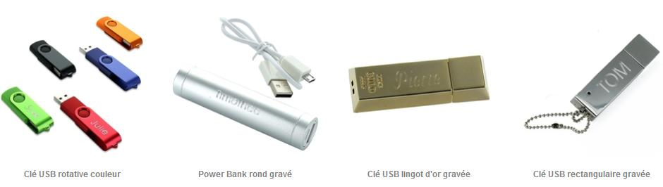 Clé USB gadget
