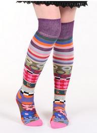 Des chaussettes tendances et mode