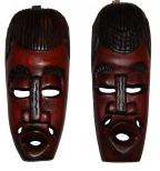 Masques africains : arrivage