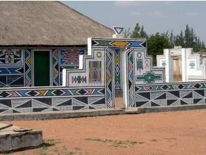 Peinture murale Ndebele