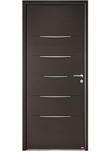 Choisir sa porte d'entrée : aluminium, bois ou acier ?