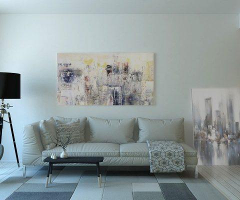 Relooking simple pour une décoration d'intérieur design