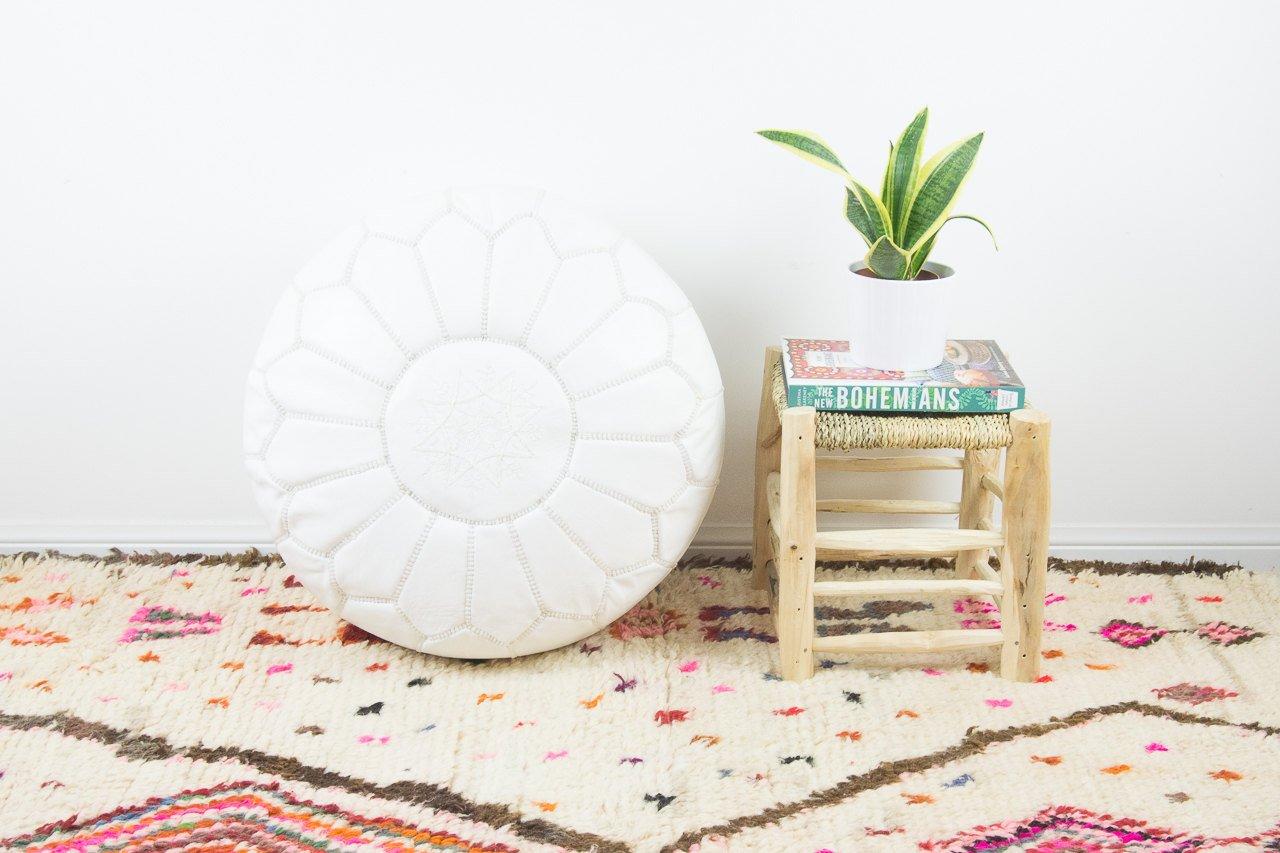 Le pouf marocain : l'accessoire indispensable de votre décoration