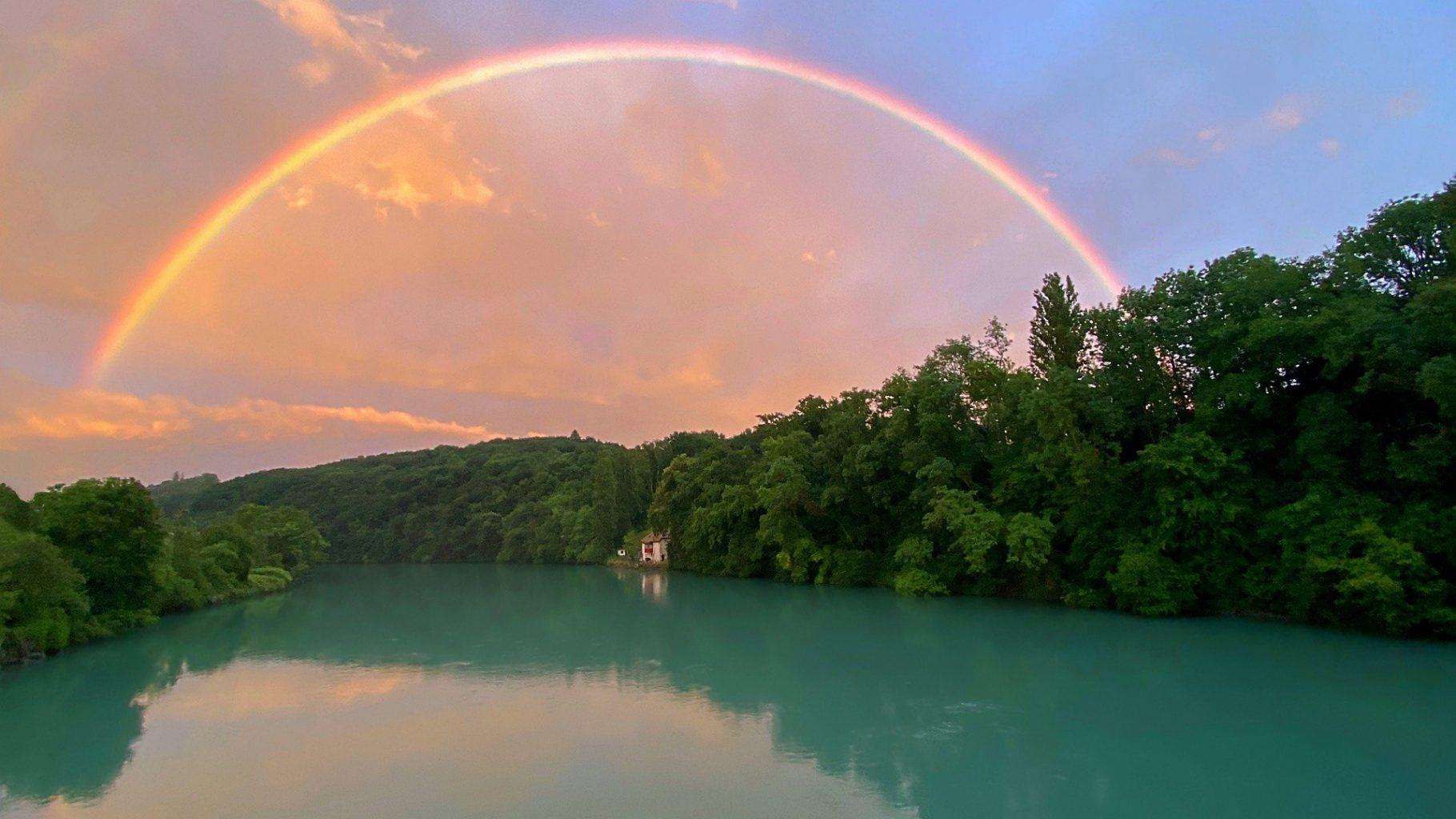 Couleurs de l'arc en ciel : 7 couleurs et signification